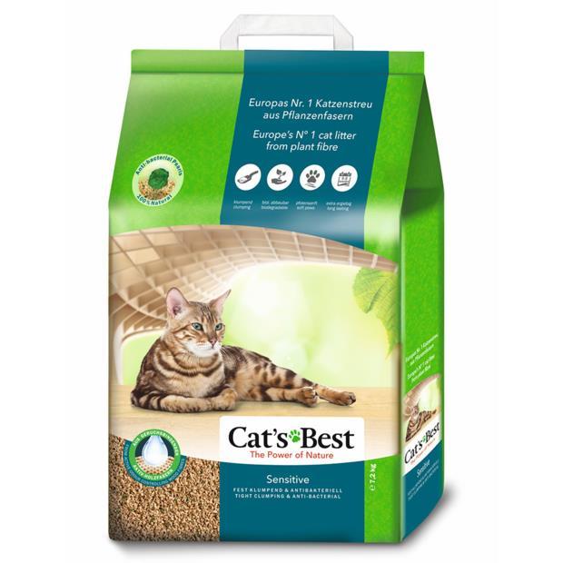 Cats Best Sensitive 20L Pet: Cat Category: Cat Supplies  Size: 7.2kg Material: Wood  Rich Description:...