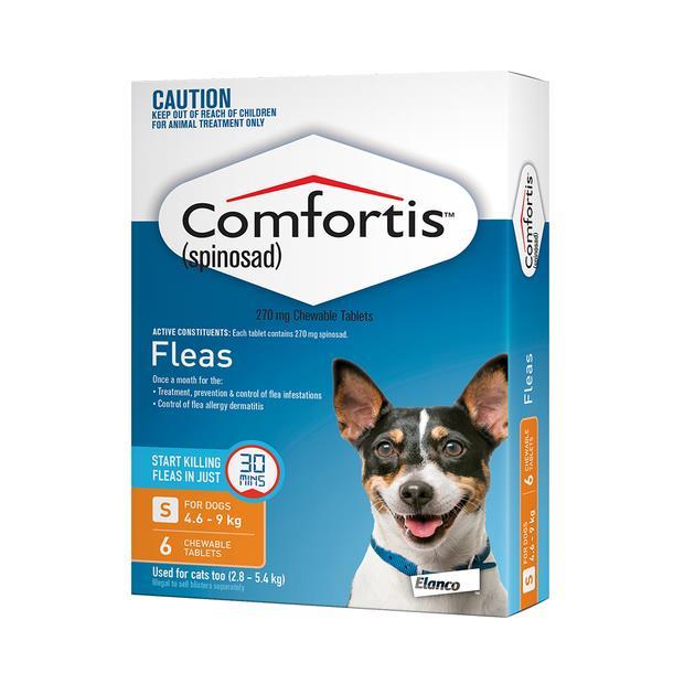 Comfortis Tab 270mg Orange 6 Pack Pet: Dog Category: Dog Supplies  Size: 0.1kg  Rich Description:...