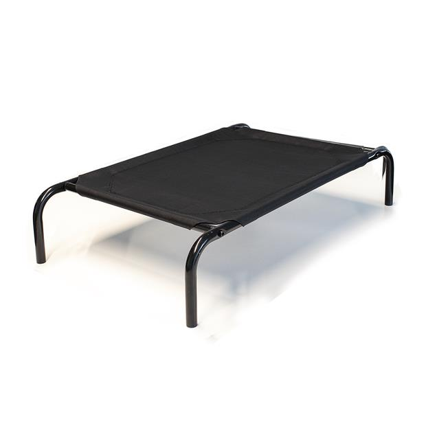 Paws For Life Elevated Bed Black Medium Pet: Dog Category: Dog Supplies  Size: 3.5kg Colour: Black...