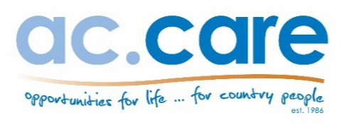 Mt Gambier $72,000 - $78,000 (Full Time)8% of ac.care staff are Aboriginal or Torres Strait Islander...