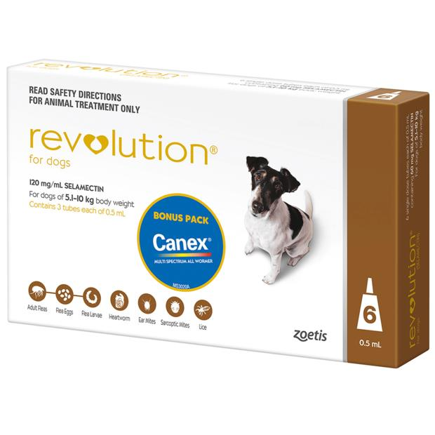 Revolution Dog Brown 3 Pack Pet: Dog Category: Dog Supplies  Size: 0.1kg  Rich Description: Revolution...