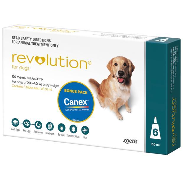 Revolution Dog Green 3 Pack Pet: Dog Category: Dog Supplies  Size: 0.1kg  Rich Description: Revolution...
