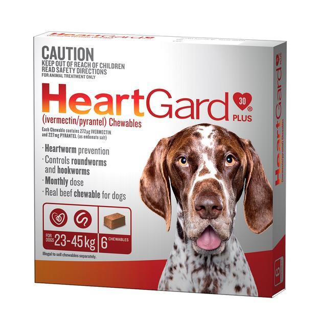 Heartgard Plus Lge Dog Brown 6 Pack Pet: Dog Category: Dog Supplies  Size: 0.1kg  Rich Description:...