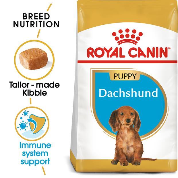 Royal Canin Dachshund Junior Dry Dog Food 1.5kg Pet: Dog Category: Dog Supplies  Size: 1.5kg  Rich...