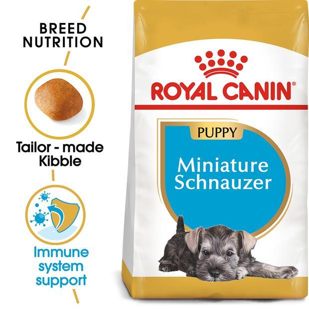 Royal Canin Miniature Schnauzer Junior Dry Dog Food 1.5kg Pet: Dog Category: Dog Supplies  Size: 1.5kg...
