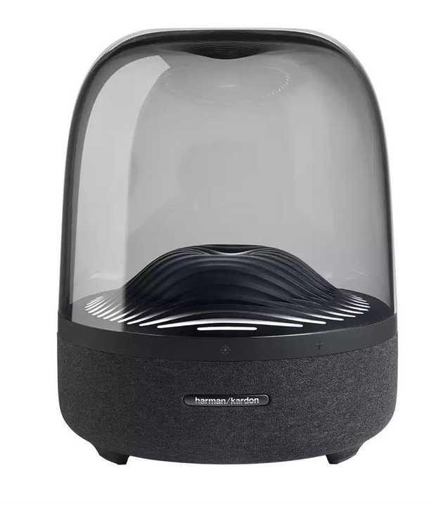 Distinctive, elegant design Exceptional 360-degree sound Ambient light Wireless streaming with...