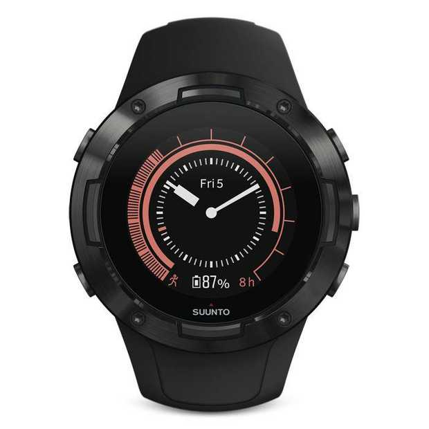 The Suunto 5 Compact GPS Sports Watch embodies all the necessary sport features needed to accurately...