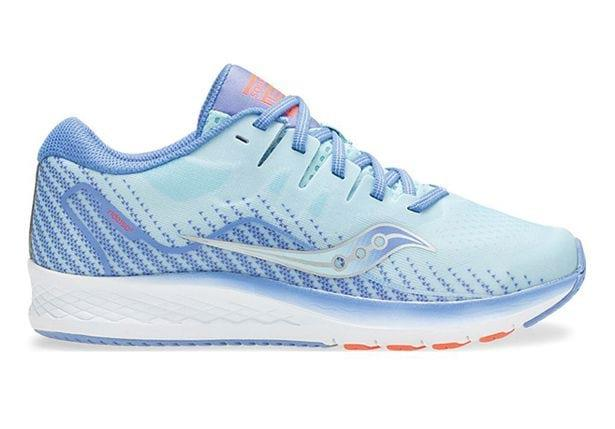 The Saucony Ride ISO 2 is a feel-good cushioned ride for young feet. This is a durable and reliable...