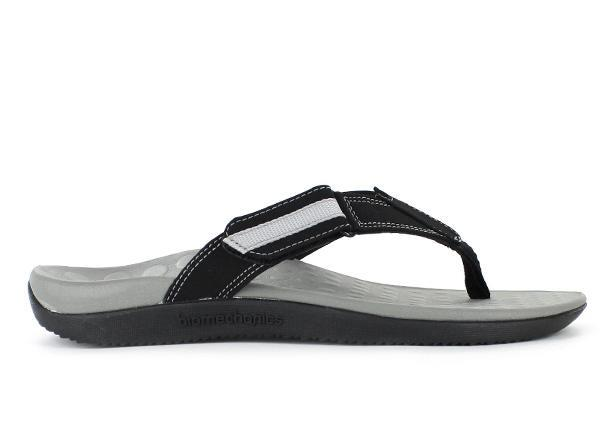The Orthaheel Mens Ryder II Black/Grey is a casual thong with a soft toe post to maximise comfort for...