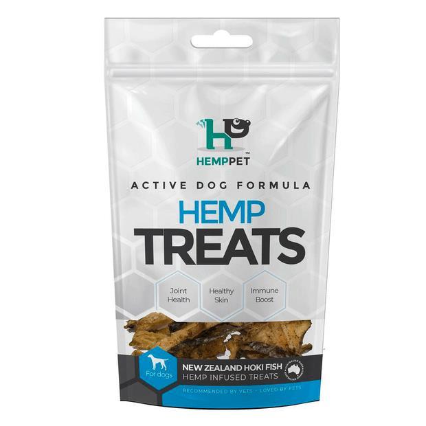 Hemp Pet Hemp Infused Hoki Fish Treats For Dogs 70g Pet: Dog Category: Dog Supplies  Size: 0.2kg  Rich...