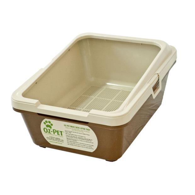 Oz Pet Maxi Sieve Tray 4 Piece Set Pet: Cat Category: Cat Supplies  Size: 3.2kg Material: Wood  Rich...