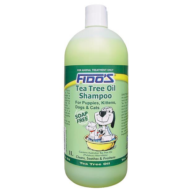 Fidos Tea Tree Oil Shampoo 1L Pet: Dog Category: Dog Supplies  Size: 1kg  Rich Description: Fidos Tea...