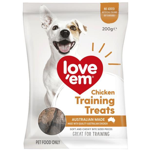 Love Em Chicken Training Treats 200g Pet: Dog Category: Dog Supplies  Size: 0.6kg  Rich Description:...