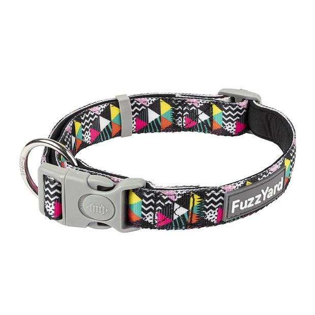 Fuzzyard Dog Collar No Signal Medium Pet: Dog Category: Dog Supplies  Size: 0.1kg Colour: Multi...