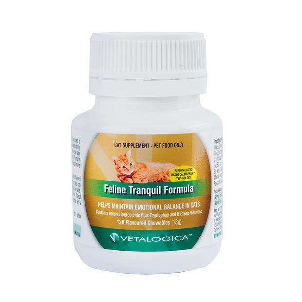 Vetalogica Tranquil Formula For Cats 120 Tabs Pet: Cat Category: Cat Supplies  Size: 0.2kg  Rich...