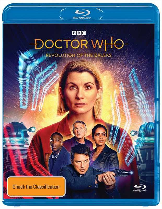 Doctor Who Revolution Of The Daleks Blu-Ray