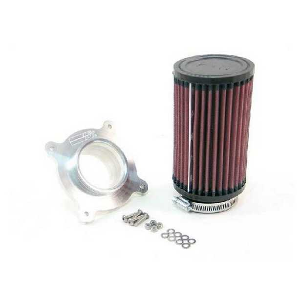 K&N; Custom Assembly Filter Kits utilizes an adapter or tube that mounts directly to the air box. The...