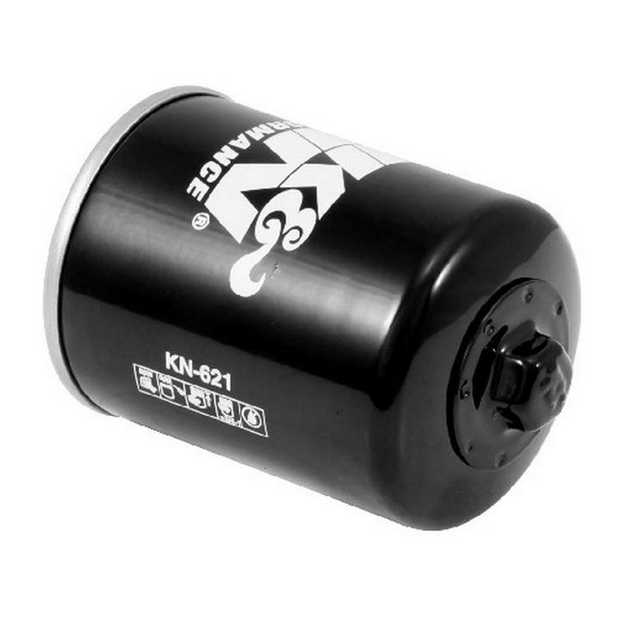 K&N; powersports oil filters contain a modern synthetic filter media, designed for ultimate flow with...