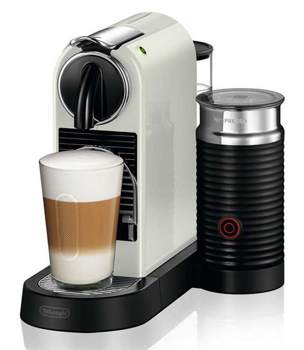 19 bar pressure pump Automatic brewing unit Integrated Aeroccino milk frother Thermoblock heating...