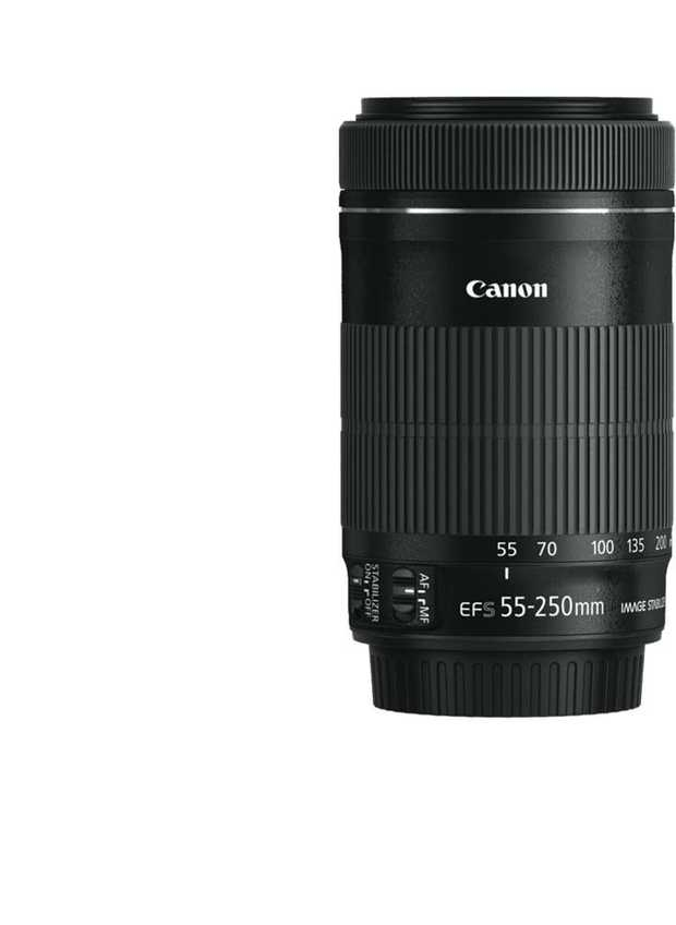 The newly developed EF-S 55-250mm f/4-5.6 IS STM is an ideal telephoto zoom lens for EOS cameras...