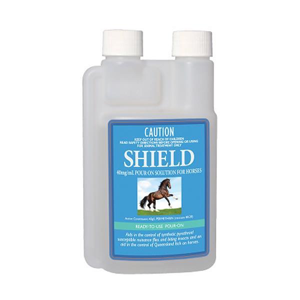 Shield Pour On Horse Fly Repellent 250ml Pet: Horse Size: 0.3kg  Rich Description: Suitable for control...