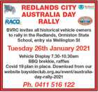Redlands City Australia Day Rally