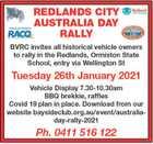 Redlands City Australia Day Rally