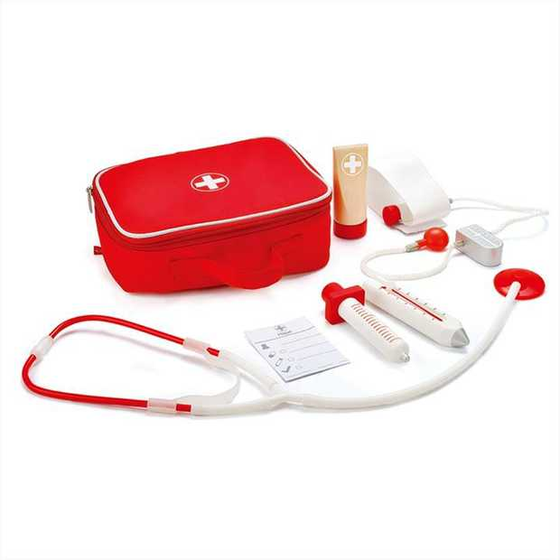 Keep your friends happy and healthy with this well-equipped doctors kit. Putting your child in...