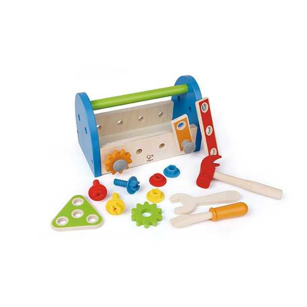 Nuts, bolts, and all the tools little builders need to tinker, are conveniently packed in this...