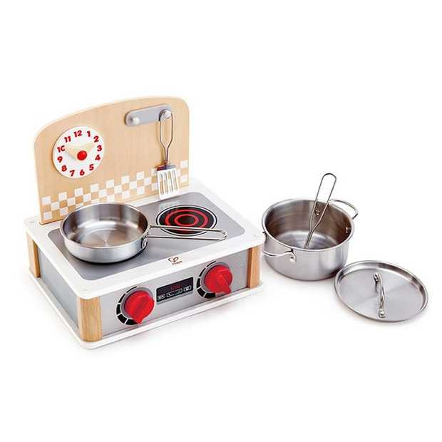 Role-play cooking a delicious meal together with your child with this realistic 2-in-1 Kitchen...