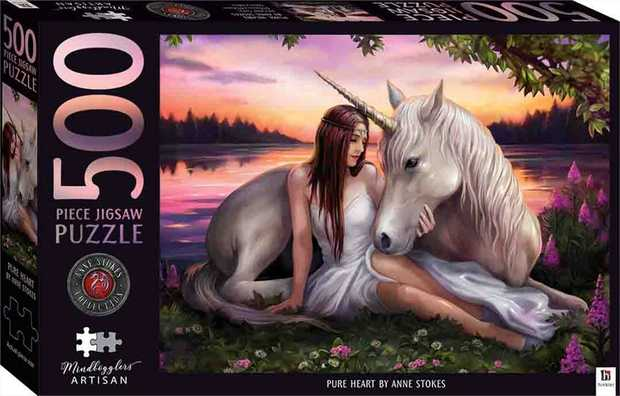 Renowned fantasy artist Anne Stokes will take you on a magical journey with her stunning...