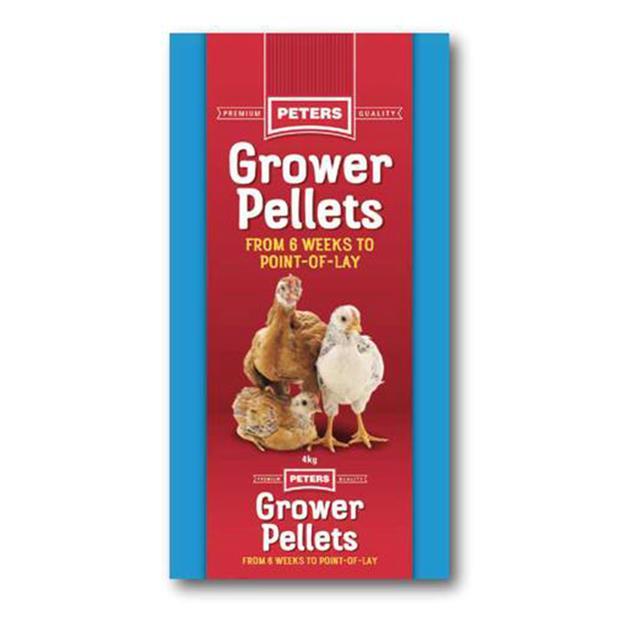 Peters Poultry Grower Pellet 4kg Pet: Bird Category: Bird Supplies  Size: 4kg  Rich Description: Peters...