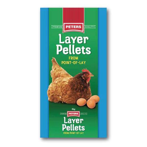 Peters Poultry Layer Pellet 4kg Pet: Bird Category: Bird Supplies  Size: 4kg  Rich Description: Peters...