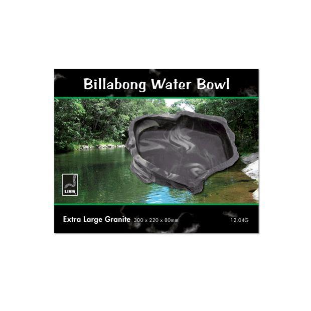 Urs Billabong Bowl Granite Small Pet: Reptile Category: Reptile & Amphibian Supplies  Size: 0.2kg  Rich...