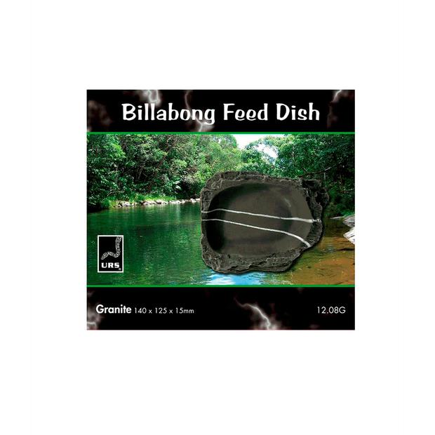 Urs Billabong Feed Dish Granite Each Pet: Reptile Category: Reptile & Amphibian Supplies  Size: 0.5kg...