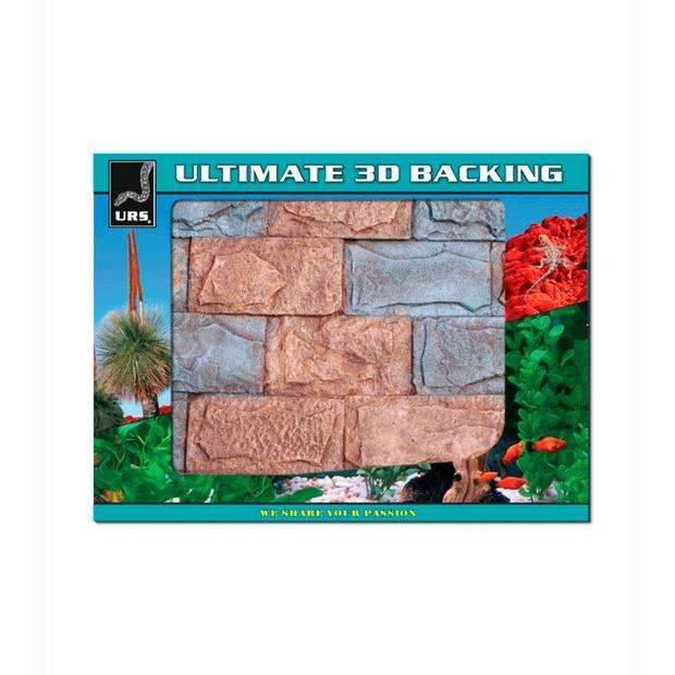 Urs Ultimate 3d Backing Urban Each Pet: Reptile Category: Reptile & Amphibian Supplies  Size: 1kg  Rich...