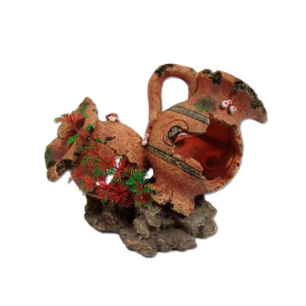Ipetz 2 Broken Pots Each Pet: Reptile Category: Reptile & Amphibian Supplies  Size: 0.3kg  Rich...