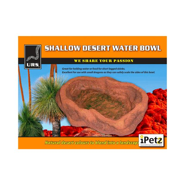 Urs Bowl Red Desert Each Pet: Reptile Category: Reptile & Amphibian Supplies  Size: 1.7kg  Rich...