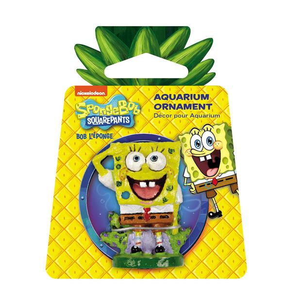 Penn Plax Spongebob Squarepants Mini Resin Replica Each Pet: Fish Category: Fish Supplies  Size: 0kg...