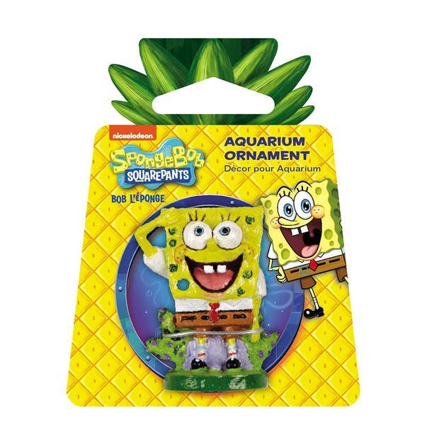 Penn Plax Spongebob Squarepants Mini Resin Replica Each Pet: Fish Category: Fish Supplies  Size: 0kg...