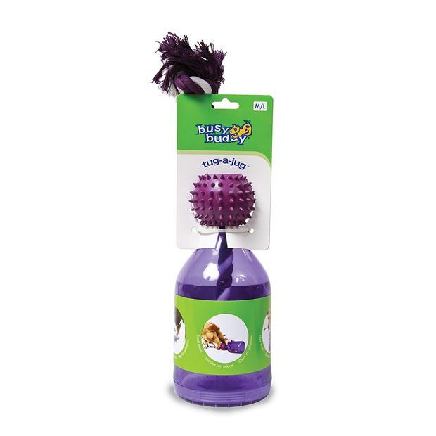 Busy Buddy Tug A Jug Dog Toy Mediumlarge Pet: Dog Category: Dog Supplies  Size: 0.5kg Colour: Purple...