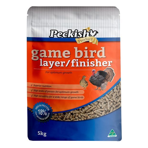 Peckish Game Bird Layer Finisher 5kg Pet: Bird Category: Bird Supplies  Size: 5.2kg  Rich Description:...