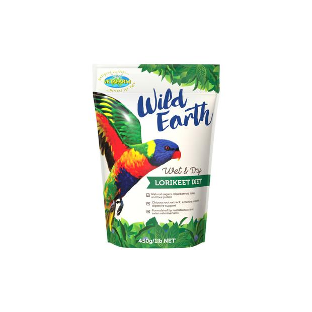 Vetafarm Wild Earth Lorikeet Diet 2kg Pet: Bird Category: Bird Supplies  Size: 2kg  Rich Description:...