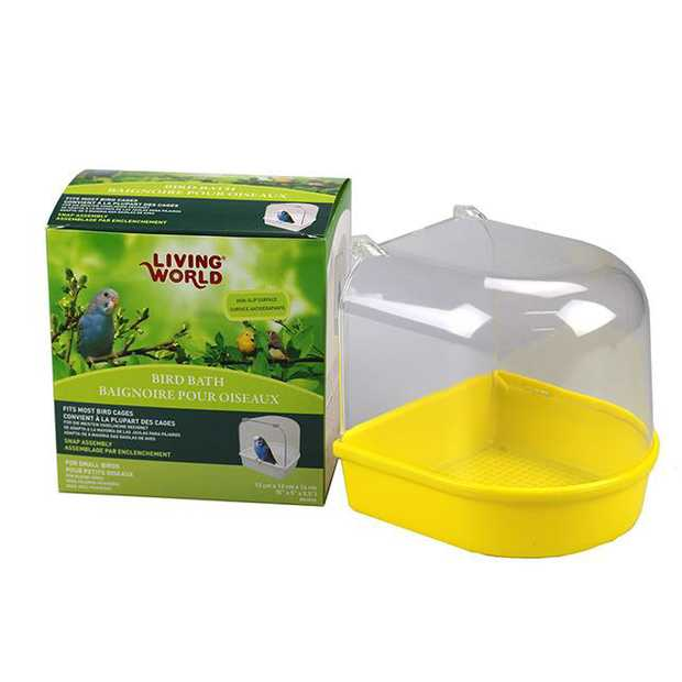 Living World Outside Bird Bath Each Pet: Bird Category: Bird Supplies  Size: 0.2kg  Rich Description:...