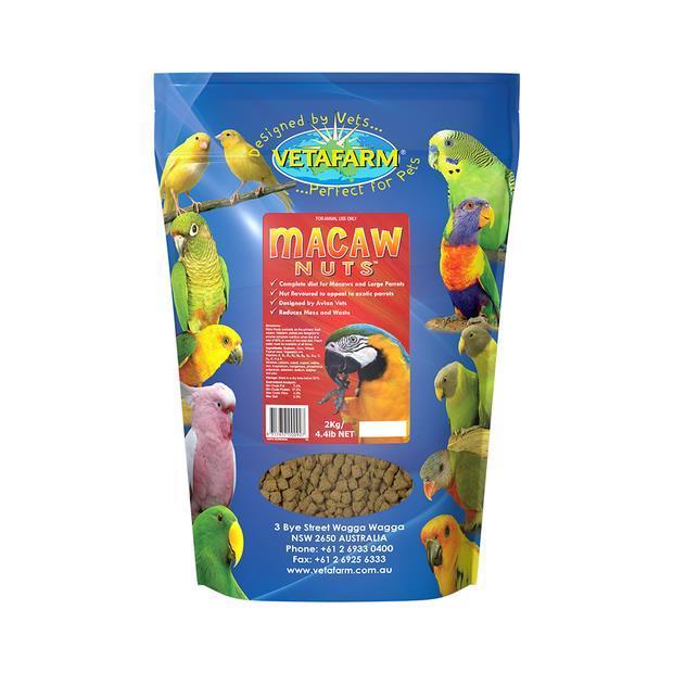 Vetafarm Macaw Nuts 2kg Pet: Bird Category: Bird Supplies  Size: 2kg  Rich Description: Vetafarm Macaw...
