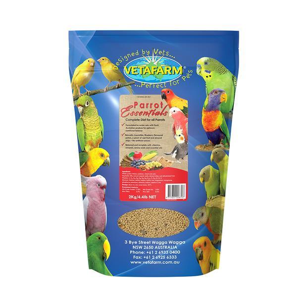 Vetafarm Parrot Essentials Food 2kg Pet: Bird Category: Bird Supplies  Size: 2.1kg  Rich Description:...