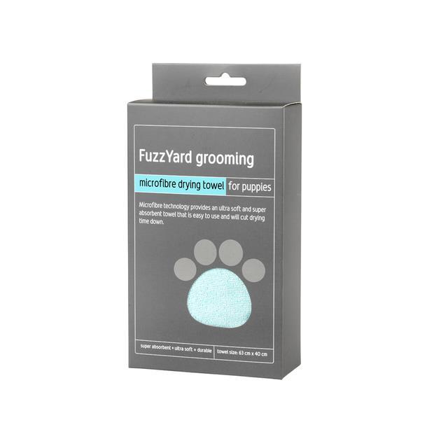 Fuzzyard Microfibre Towel Blue Each Pet: Dog Category: Dog Supplies  Size: 0.1kg Colour: Blue  Rich...