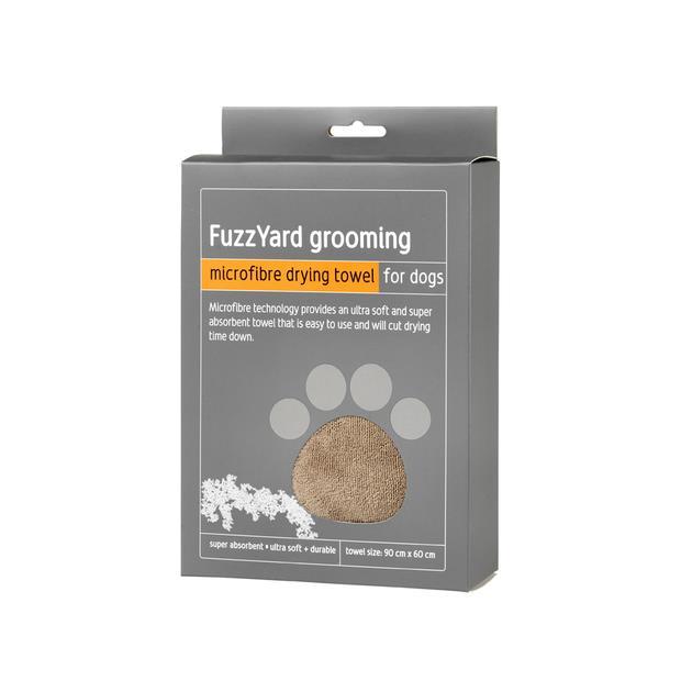Fuzzyard Microfibre Towel Brown Each Pet: Dog Category: Dog Supplies  Size: 0.2kg Colour: Brown  Rich...