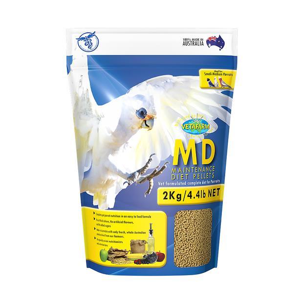 Vetafarm Parrot Pellet Maintenance 2kg Pet: Bird Category: Bird Supplies  Size: 2kg  Rich Description:...