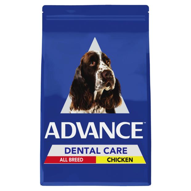 Advance Adult Dental All Breed Dry Dog Food Chicken 13kg Pet: Dog Category: Dog Supplies  Size: 13kg...